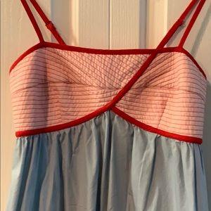 Anthropologie Lilka Lihaf Quilted Dress w/ Pockets